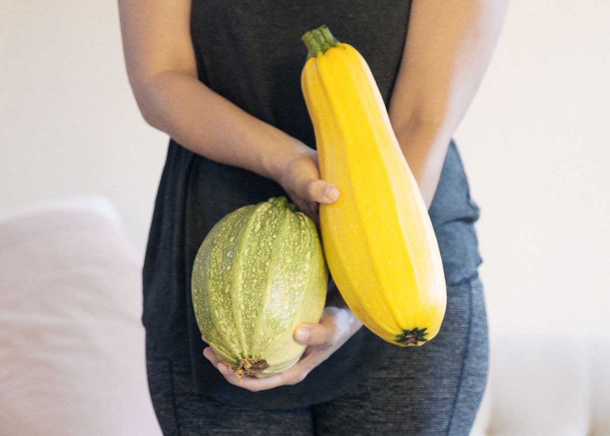 A Tale of Two Zucchini